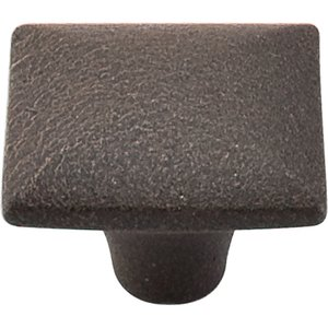 Top Knobs - Chateau Square Iron Knob Smooth Rust