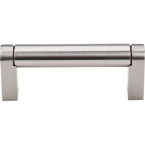 "Top Knobs - Asbury - Pennington Bar Pull 3 "" Centers in Brushed Satin Nickel"