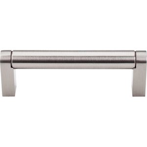 "Top Knobs - Asbury - Pennington Bar Pull 3 3/4"" Centers in Brushed Satin Nickel"