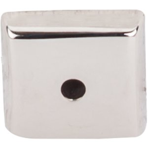 "Top Knobs - Aspen II - 7/8"" Square Backplate in Polished Nickel"