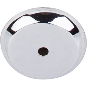"Top Knobs - Aspen II - 1 1/4"" Round Backplate in Polished Chrome"