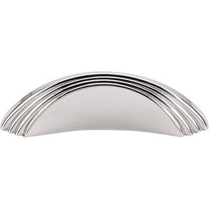 "Top Knobs - Sydney Harbor - Sydney - 2"" Centers Flair Pull in Polished Nickel"