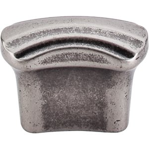 "Top Knobs - Victoria Falls - Victoria Falls - 3/4"" Centers Pull in Pewter Antique"