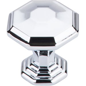 "Top Knobs - Chareau - 1 1/8"" Diameter Chalet Knob in Polished Chrome"