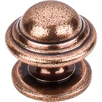 Top Knobs - Britannia - Empress Knob Old English Copper 1 1/4""