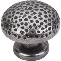 "Top Knobs - Britannia - Warwick Knob 1 1/4"" in Cast Iron"