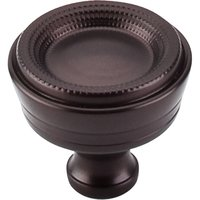 Top Knobs - Edwardian - Knob in Oil Rubbed Bronze
